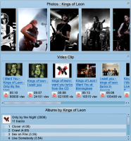 Amarok 2.2 video and photo applet